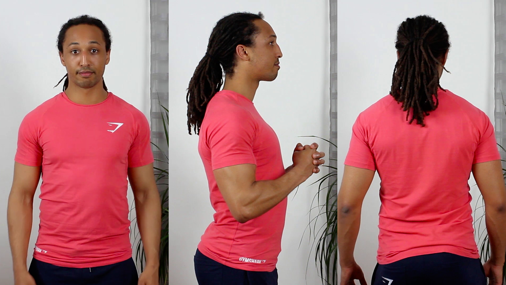 T-shirt Gymshark Taille S